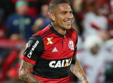 Flamengo suspendió contrato de Guerrero hasta recuperar condición para jugar