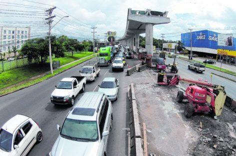 Cerrarán tramo de la avenida Domingo Díaz por trabajos del metro