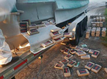 Incautaron 474 paquetes de droga al sureste de Isla de Coiba