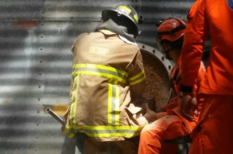 Murió hombre que cayó dentro de un silo de maíz en Los Santos