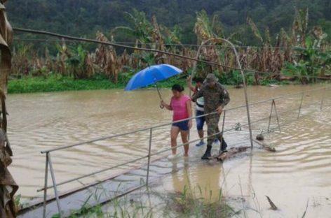 Declaran alerta verde por 48 horas en Bocas del Toro,  Chiriquí y Ngäbe Buglé