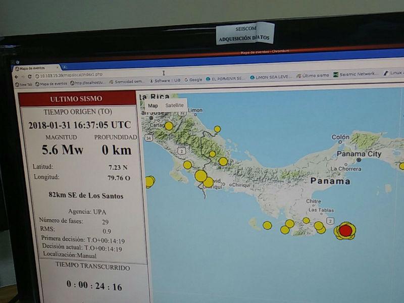 temblor de magnitud