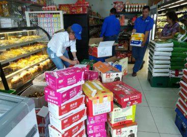 Incautaron productos sin registro sanitario en locales de Brisas del Golf