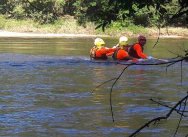 Hallaron cadáver de joven que había desaparecido  en río Tabasará
