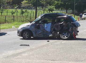 Accidente de tránsito en Chiriquí dejó un muerto y dos heridos
