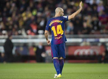 Barcelona confirmó la ida de Mascherano al fútbol chino
