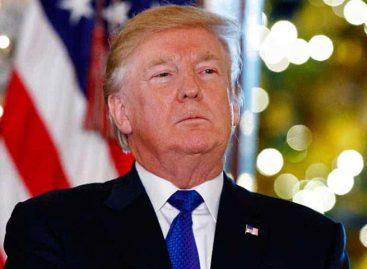 Trump regresó a Washington tras sus vacaciones en Florida