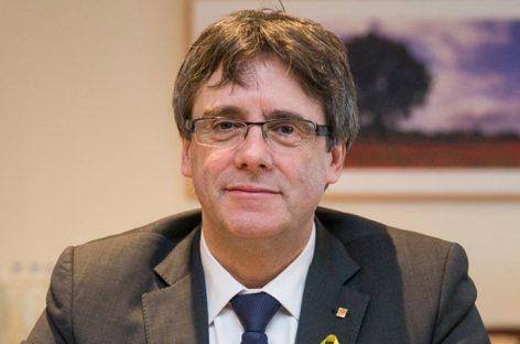España pidió activar orden europea de detención de Puigdemont