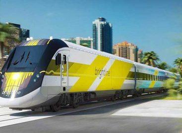 Esta semana Miami y Orlando estarán conectados por un tren de alta velocidad