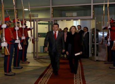 Presidente de Guatemala llegó a Colombia