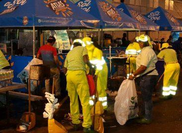 Más de 240 toneladas de desechos fueron recogidos en la Cinta Costera