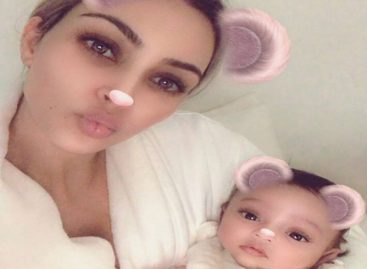 Esta fue la primera foto pública de Chicago, la nueva hija de Kim Kardashian