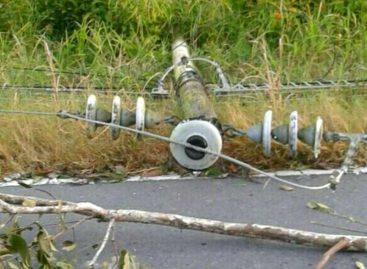 Fuertes vientos han afectado el servicio eléctrico en Chiriquí