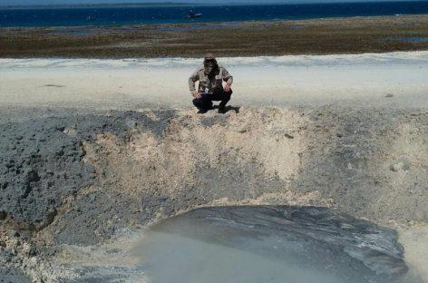 Detonan bajo supervisión una bomba de la segunda guerra mundial hallada en Isla Iguana