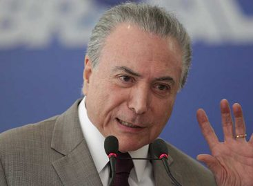 Temer intervino la Seguridad Pública de Río de Janeiro por violencia