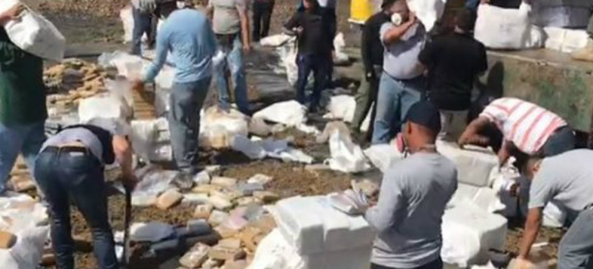 Destruyeron 9.6 toneladas de drogas en La Chorrera