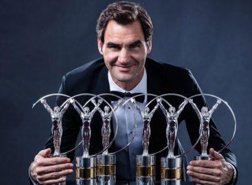 Roger Federer se llevó el premio al Mejor Deportista del Año
