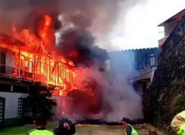 Fiscalía abre investigación por incendio en San Felipe