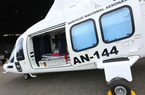 Fuerte brisa hizo caer a helicóptero en Chiriquí: Cuatro heridos