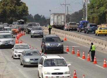 Este martes 13 inicia a las 10:00 am inversión de carriles de retorno a ciudad de Panamá