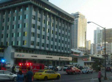 Conato de incendio se presentó en sede del MP en edificio Avesa