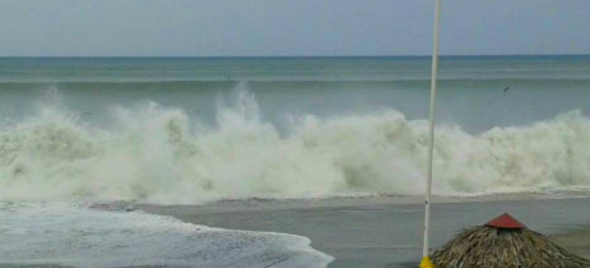 Sinaproc alerta sobre mareas altas y fuerte oleaje en la Semana Santa