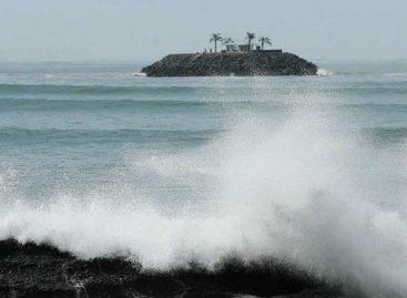 Advertencia de mar de fondo en el Pacífico panameño