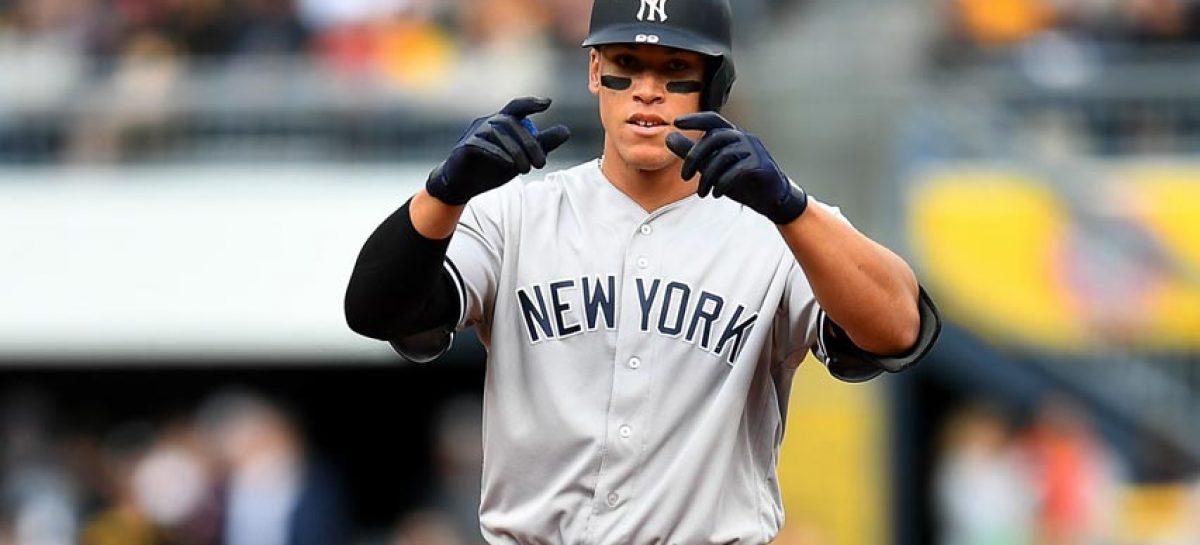 Yankees le otorgaron nuevo contrato de un año a Aaron Judge
