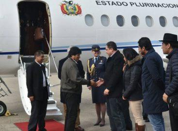 Evo Morales regresó a La Haya para últimos alegatos contra Chile