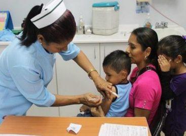 CSS se une a jornada nacional de vacunación contra el sarampión