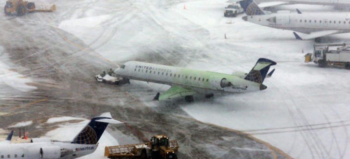 Cancelaron vuelos entre República Dominicana y Estados Unidos por la nieve
