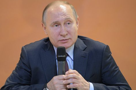 """Putin agradeció a los rusos el """"histórico apoyo"""" recibido en las elecciones"""