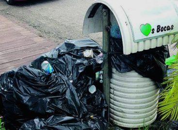 Preocupación por gran cantidad de basura en Bocas del Toro