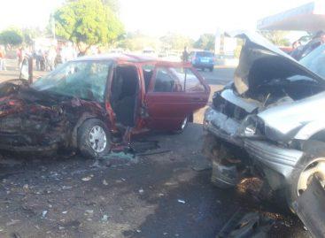 Choque en Potrerillos causó al menos cinco heridos