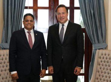 Varela se reúne con primer ministro de Curazao para potenciar intercambio comercial