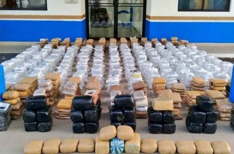 Decomisan 378 paquetes de droga en Costa Abajo de Colón