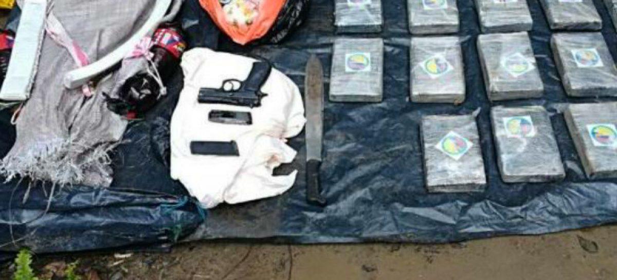 Por tráfico de cocaína detuvieron a seite panameños y a un venezolano