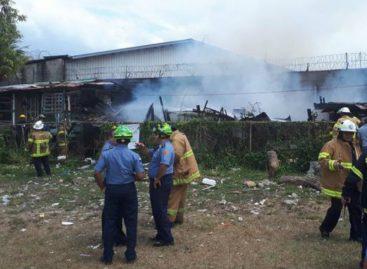 Incendio en Curundú dejó a 8 familias afectadas