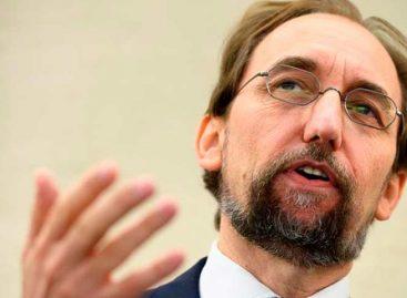 Alto comisionado de la ONU pidió entrar a Venezuela para verificar situación