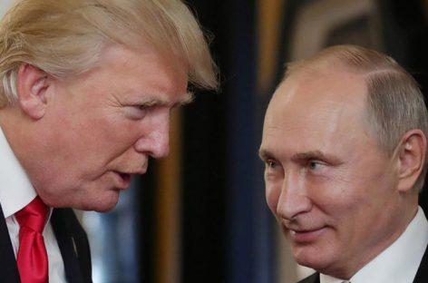 Trump dijo que planea reunirse con Putin en un futuro próximo