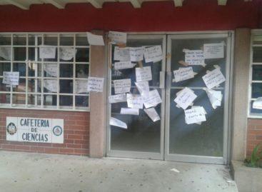 Estudiantes de la Universidad de Panamá exigen «comida digna»