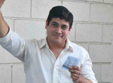 Varela felicitó a Carlos Alvarado por su triunfo en las presidenciales de Costa Rica