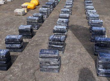 Decomisaron 1500 kilos paquetes de droga en comarca Guna Yala