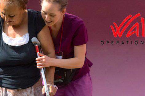 Operation Walk, el programa para pacientes de escasos recursos con problemas de rodilla y cadera