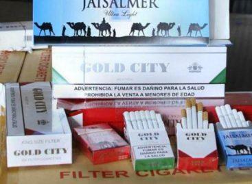 Decomisan en Dominicana 9 millones de cigarrillos de contrabando desde Panamá