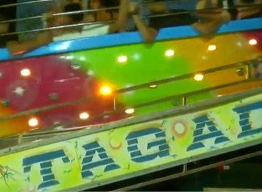 Jóvenes sufrieron lesiones en «Tagadá» del parque de la Feria de Azuero