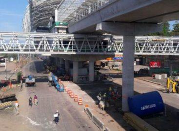 Por huelga del Suntracs fueron paralizados trabajos en línea 2 del Metro y en Tocumen