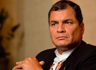 Correa negó sobreendeudamiento de su gobierno y rehúsa volver a Ecuador