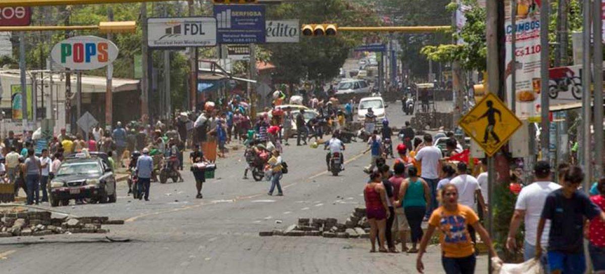 Policía de Nicaragua reportó muerte de una agente durante protestas