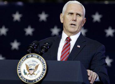 Mike Pence hablará ante la OEA el próximo 7 de mayo